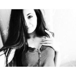 Dziewczyna Melissa Bychawa